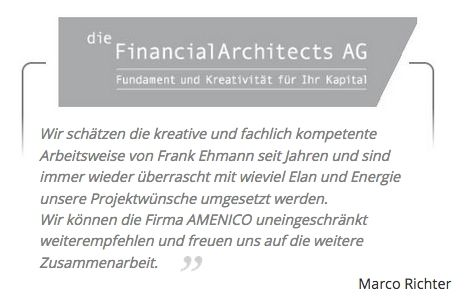 Bewertung Marco Richter Financial Architects